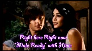 HSM3 : Right here right now (Sing with Gabriella) MALE READY / FEMALE PART ONLY