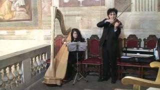 Cerimonia - Ave Maria di Gounod con Arpa e Violino - Oratorio Sant