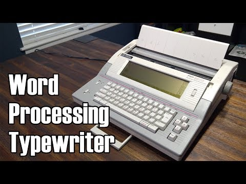 The Weird Typewriter-Computer Hybrid: Smith Corona PWP-3200