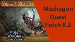 Andere Interessen Horde (zerfallende Sandskulpturen) WoW Quest Mechagon by iZocke