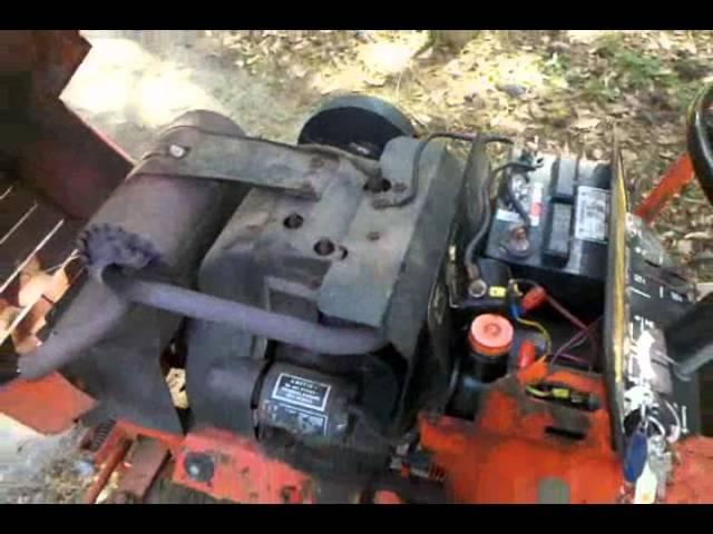 1978 Case 222 Garden Tractor