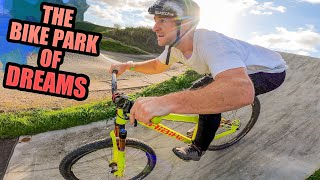 FAST MTB TRAILS A CRAZY STAIR SET AND THE BIKE PARK OF DREAMS!