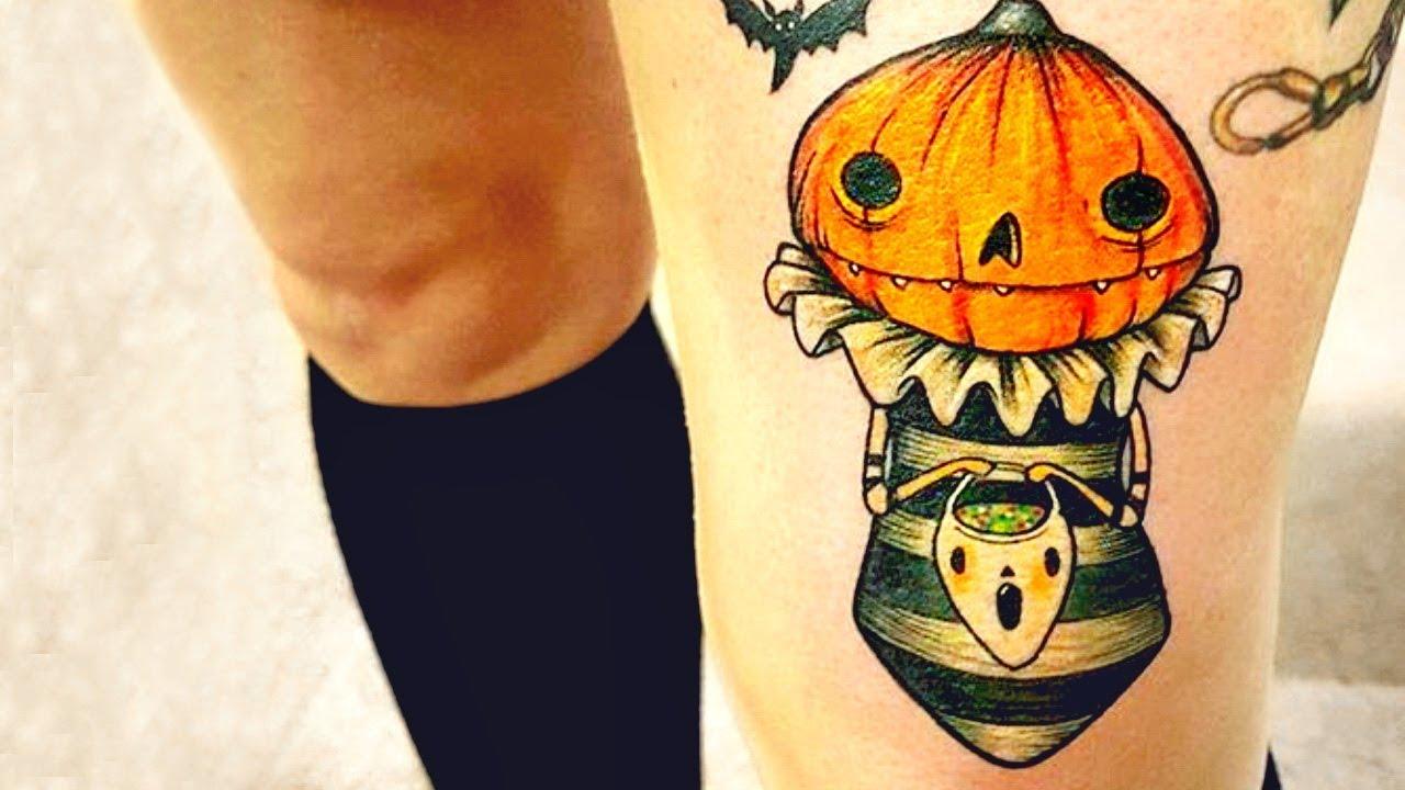 Halloween Tattoo Ideas: Best Halloween Tattoo Ideas For Making A Statement This