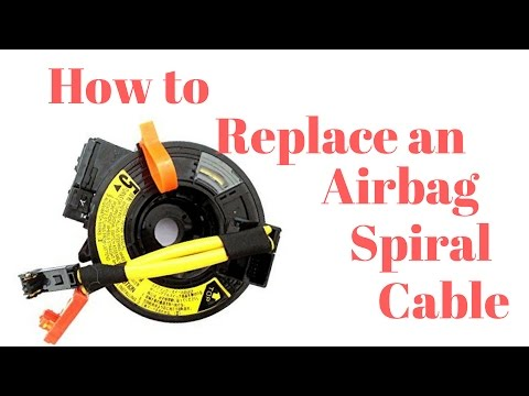 Toyota Camry Airbag Spiral Cable/Clock Spring Replacement ... on