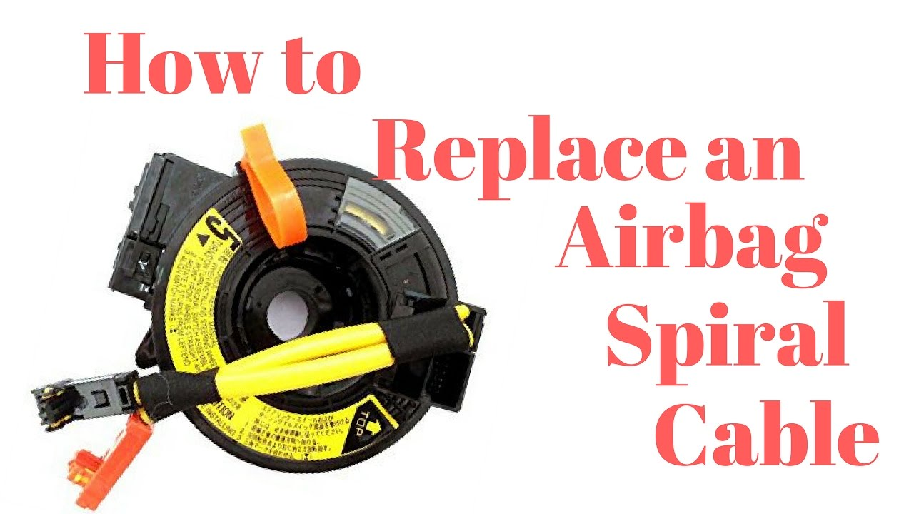 toyota camry airbag spiral cable clock spring replacement youtubetoyota camry airbag spiral cable clock spring replacement