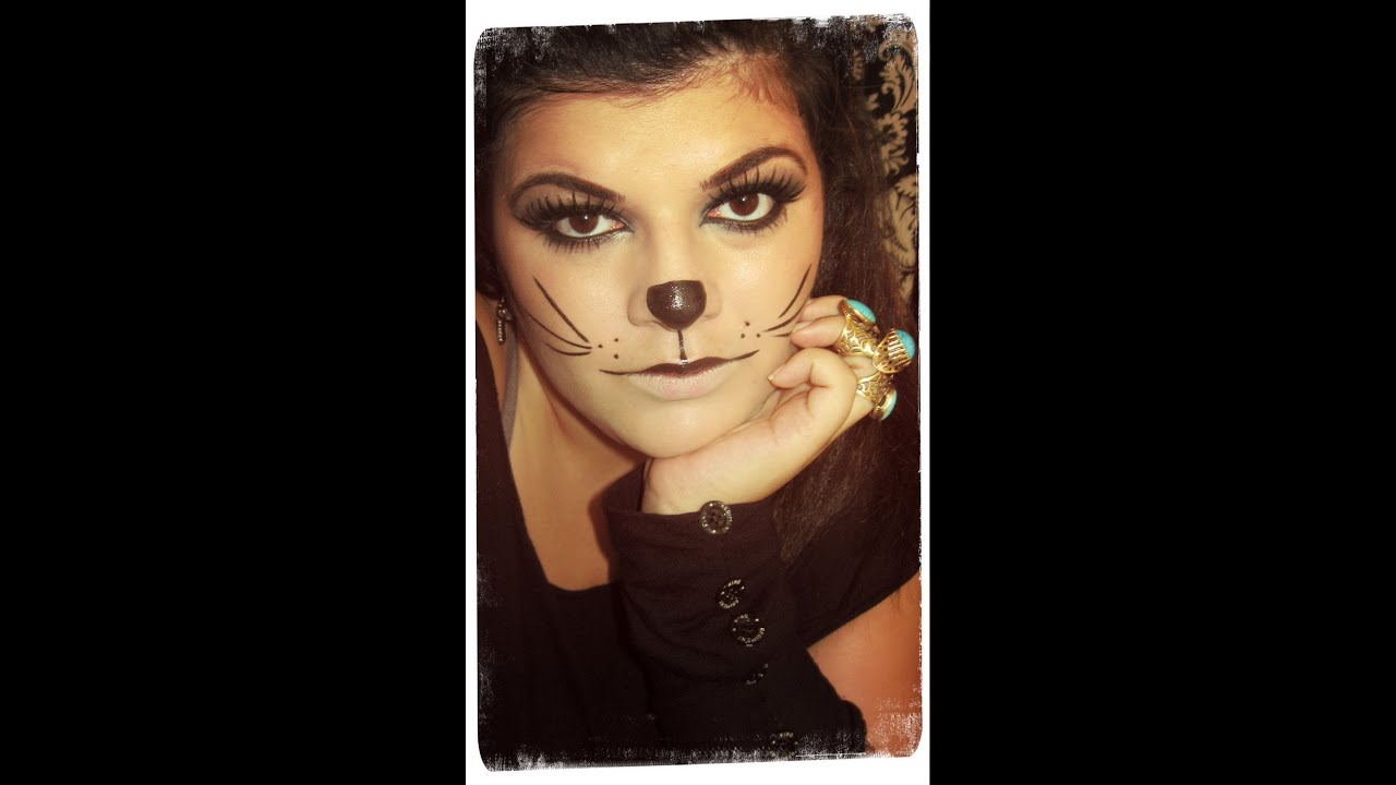 Youtube Makeup Tutorials Popular: Sexy Cat Halloween Makeup