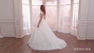 Свадебное платье 2016 года от VESILNA™ модель 3069