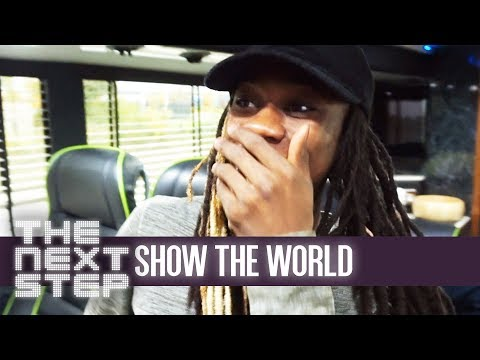 Isaiah & the Tour Cast Cam - The Next Step: Show the World #9