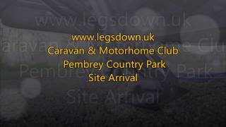 Llanelli - Pembrey CAMC Site Arrival