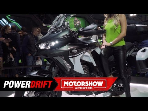 Kawasaki Versys  SE LT+ : A loaded barrel : EICMA  : PowerDrift