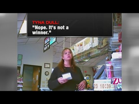 Store clerks caught on camera cheating lottery customers out of winnings