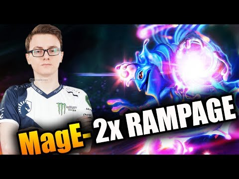 When 2 Miracle- Hang Out - Miracle- [Puck] ft MagE- [AM] Dota 2