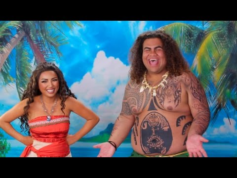 Thumbnail: DISNEY'S MOANA 'Behind the Scenes' !!!