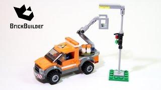 Kijk Lego City 60054 Lantaarn reparatietruck filmpje