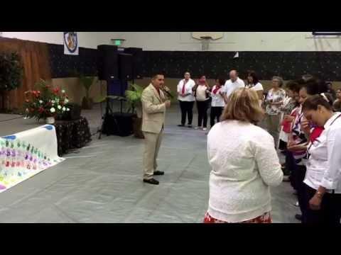 Yo te extrañare: Coro Trigos de Salinas CA en concierto-en Antioch CA.