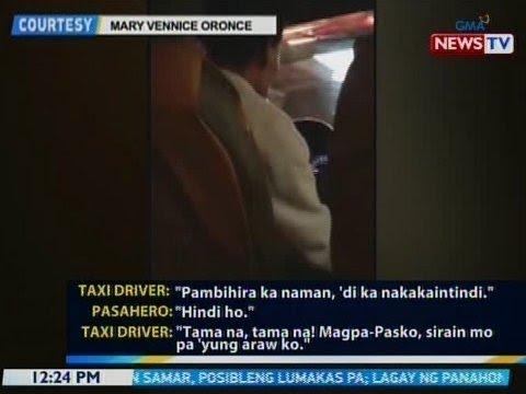 BT: Beastmode na taxi driver, ipatatawag ng LTFRB