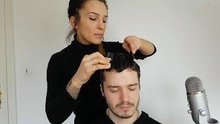 ASMR Experimental Hairstyles & Hair Play