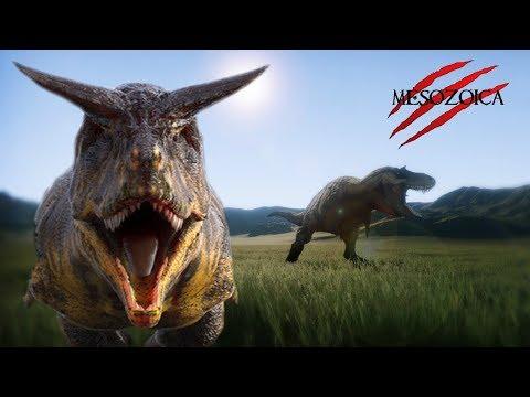 Mesozoica - Jurassic Park Simulator? - Dakotaraptor, Tyrannosaurs and Carnos OH MY!
