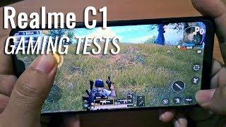 Realme C1 Gaming Tests