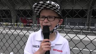 8 year old Asher's Indy 500 experience: Part 1