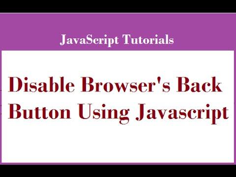 browser logout javascript
