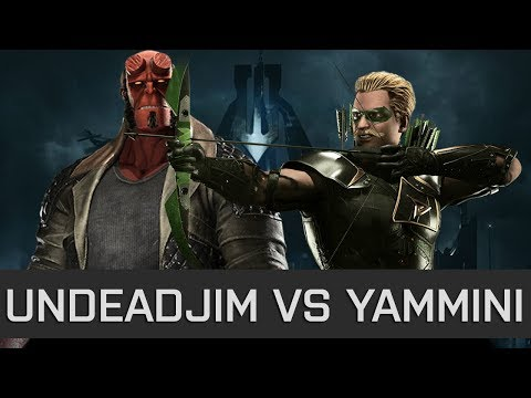 Thumbnail: Injustice 2 - High Level FT10 - Undead Jim (Hellboy) vs Yammini (Green Arrow)
