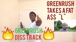 JEBAN - GREENB!TCH (UNOFFICIAL MUSIC VIDEO) (GREENRUSH DISS) | IamAKA