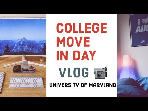 UMD COLLEGE MOVE IN DAY 2019   University of Maryland