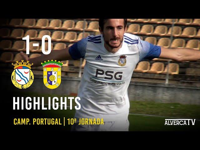 FC Alverca 1 - 0 U. Almeirim Highlights
