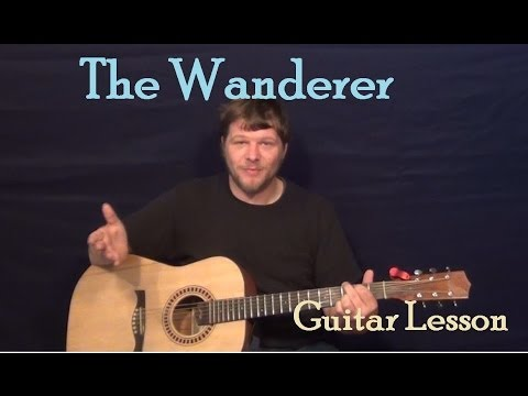 The Wanderer (Dion) Easy Guitar Lesson How to Play Tutorial
