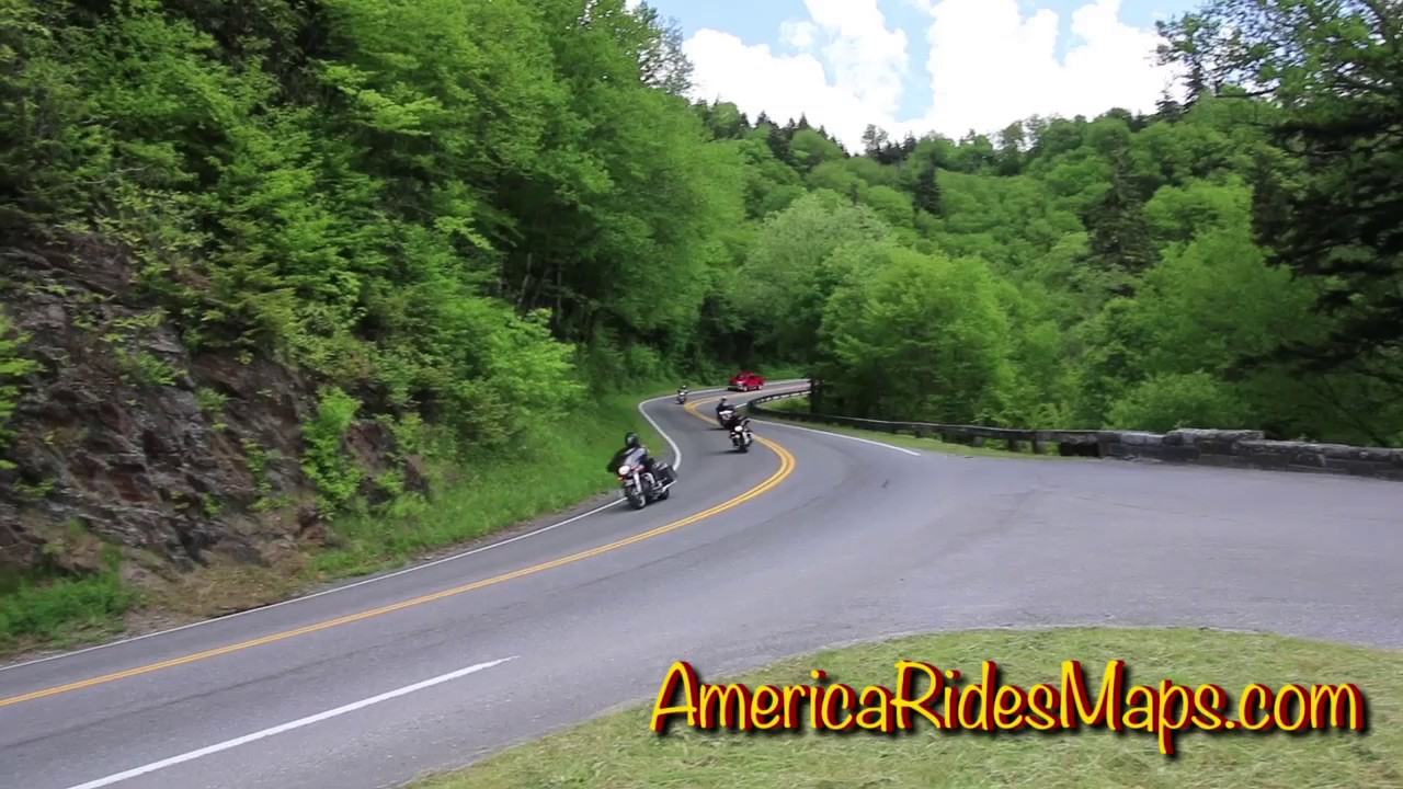 US 441 – Newfound Gap in Great Smoky Mountains National Park ...