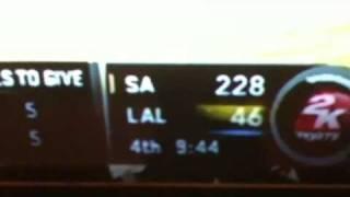 Beastiest NBA 2k11 on the wii