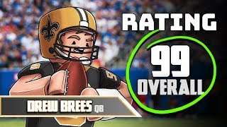 Roblox NFL FOOTBALL: Drew Brees MVP! (Saints Football)