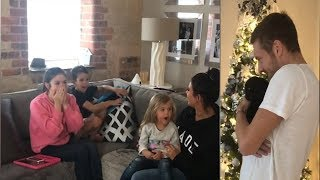 Jamie and Rebekah Vardy surprise kids with puppy at Christmas