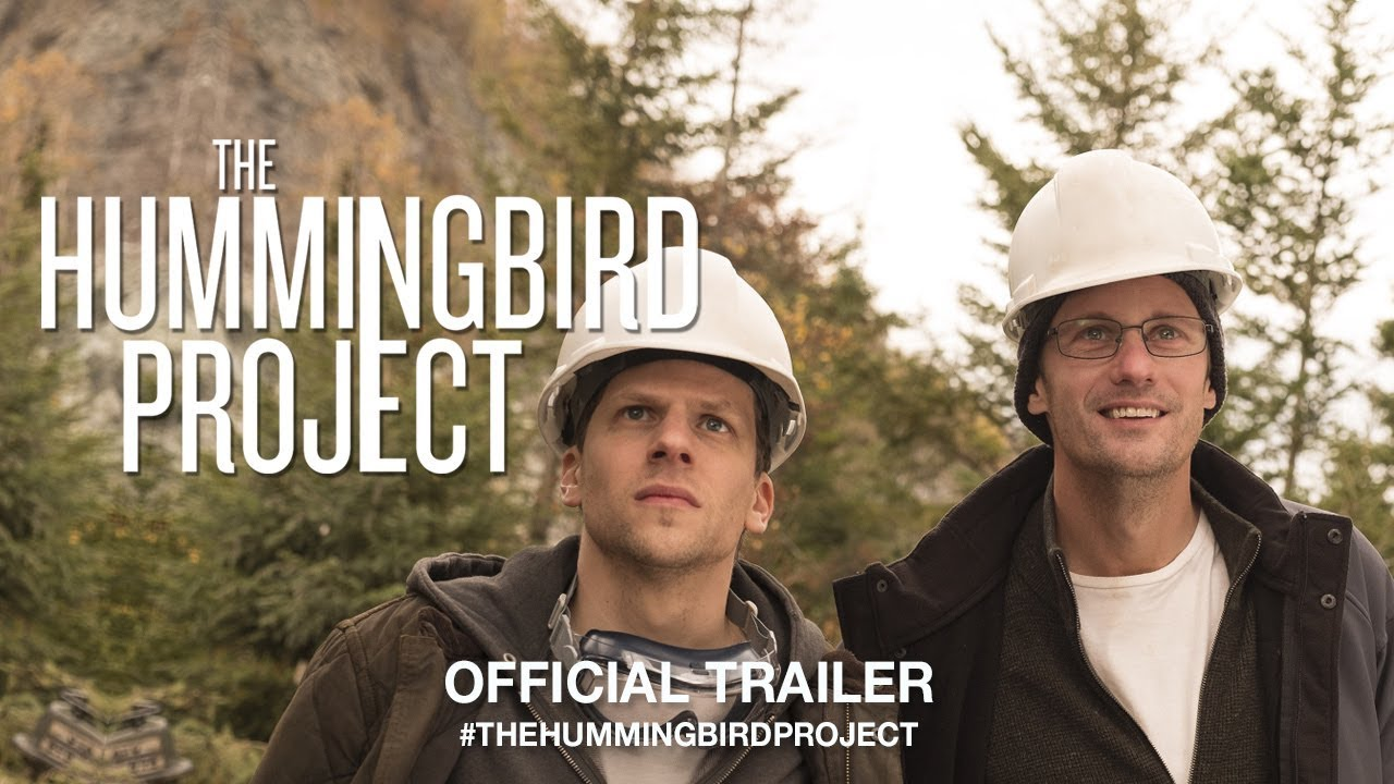 The Hummingbird Project trailer met Alexander Skarsgard