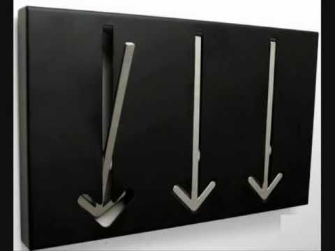 Percheros de pared youtube - Perchero de pared original ...