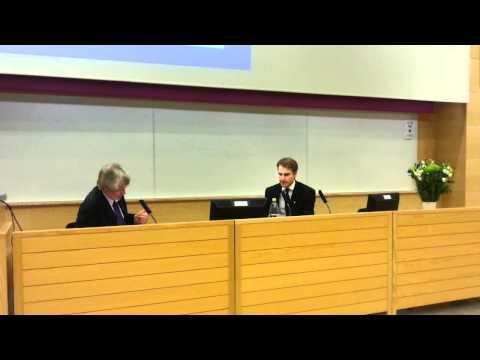 Thesis defence at Karolinska Institutet. Examiner: Professor Tim Dornan