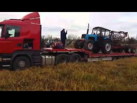 Самодельные трактора.