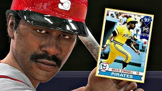 97 WILLIE STARGELL DEBUT!! AMAZING POWER! MLB The Show 17 Diamond Dynasty
