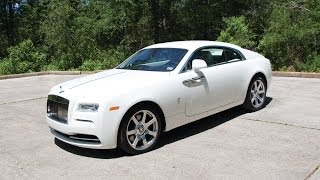 2014 Rolls Royce Wraith - Review in Detail, Start up, Exhaust Sound, and Test Drive thumbnail