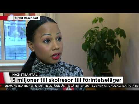 Alice Bah Kunke: Skolan är en central plattform för demokratistärkande arbete - Nyheterna (TV4)