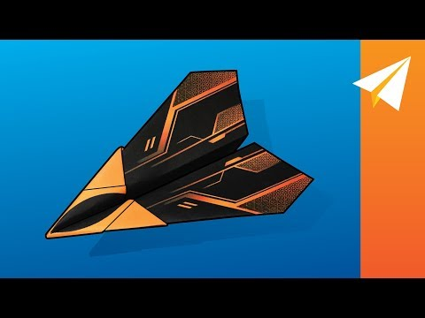FLIES 100 PLUS FEET — How to Fold an Easy Plane  |  Arrowhead