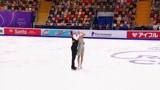 Ритм танец Танцы на льду Rostelecom Cup Гран при по фигурному катанию 2020 21