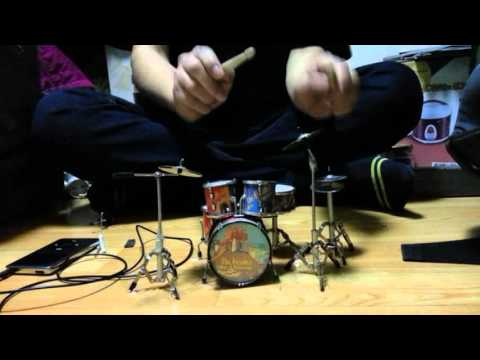 System Of A Down - Chop Suey! (mini drum cover)
