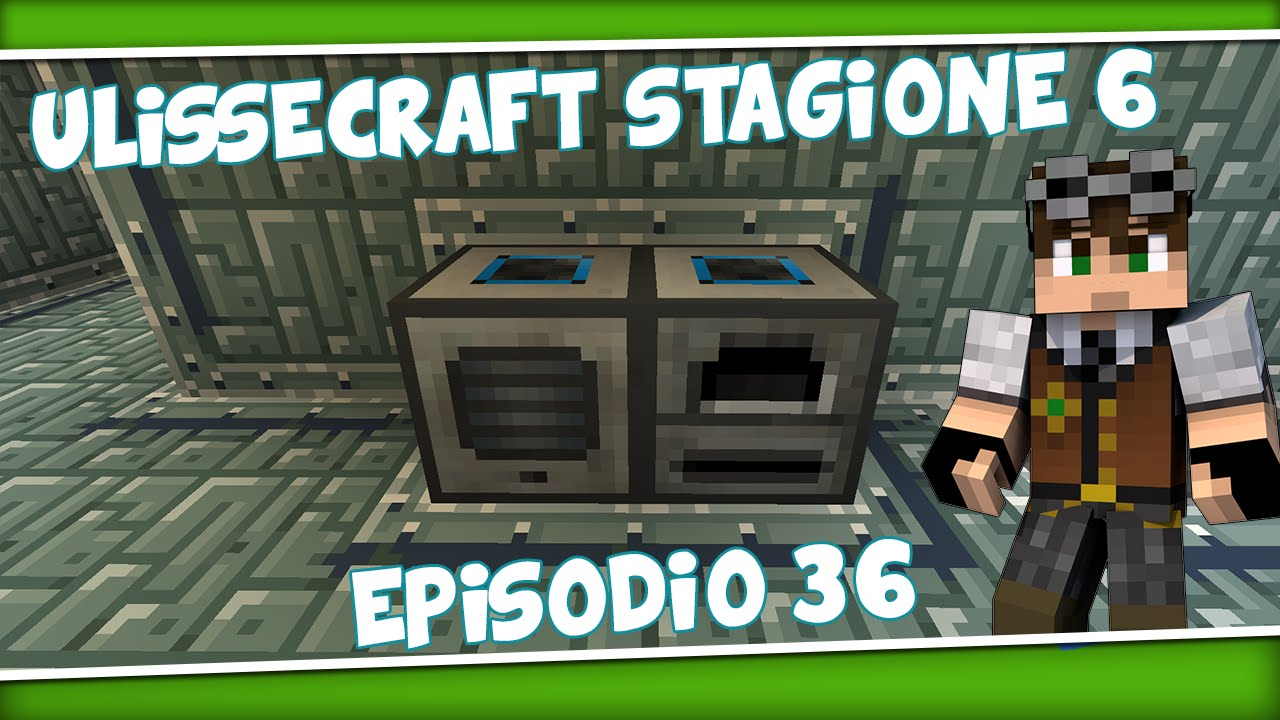 Minecraft Mod Ita Ulissecraft S6 Episodio 36