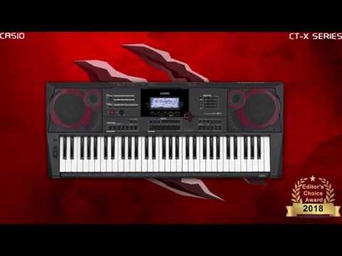 Top keyboard Casio bán chạy có giá từ 5trđ đến 8trđ