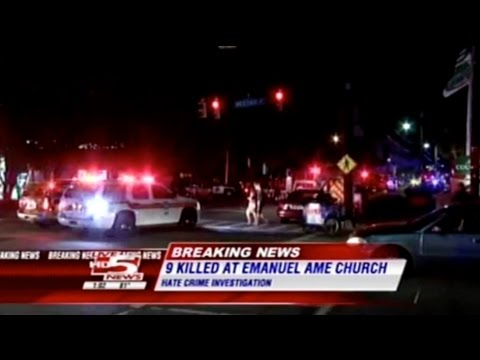 Charleston, SC, Church Shooting 2015 Tragedy Breaking Local News Reports