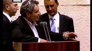 بالفيديو  في سابقة تاريخية.. عضو عربي يطرد وزيرا إسرائيليا من جلسة للكنيست