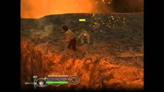 Live Gameplay/El señor de los anillos - El Retorno del Rey/Camino del Hobbit-La grieta del destino