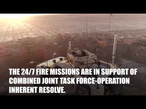 Marines Provide 24/7 Fire Support in Syria